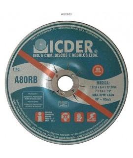 """Disco de Desbaste BDA 7"""" para Pedra grão 36 - Icder"""